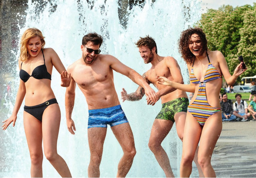 Пляжные шорты-плавки мужские 2020