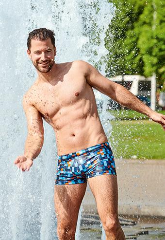 Мужские пляжные плавки бренд Bruno Banani 2020